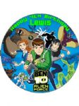 7.5 Personalised Ben 10 Alien Force 2 Icing or Wafer Cake Top Topper